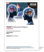 PRISM Professional Sample Report