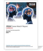 PRISM Career Match Sample Report