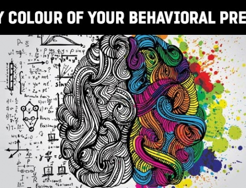 Identify your color; know your behavior preferences!
