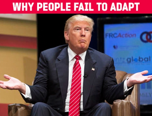 Why people fail to adapt – achieve success
