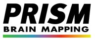 PRISM BRAIN Mapping Logo